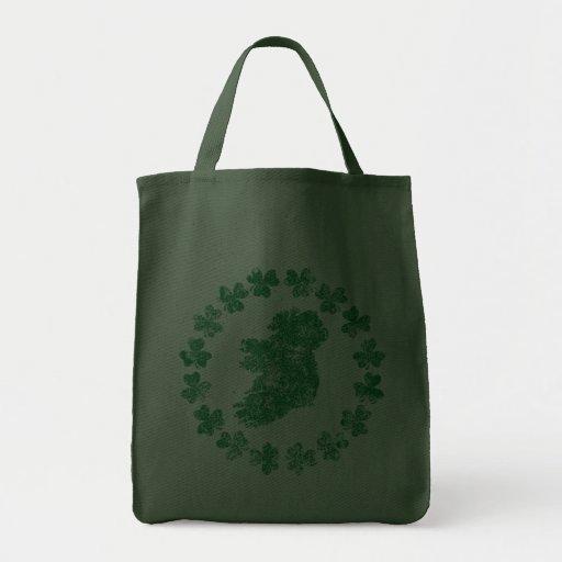 Ireland and Shamrocks Bags