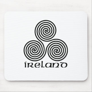 Ireland and the Triple Spiral Mouse Pad