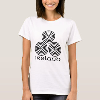 Ireland and the Triple Spiral T-Shirt