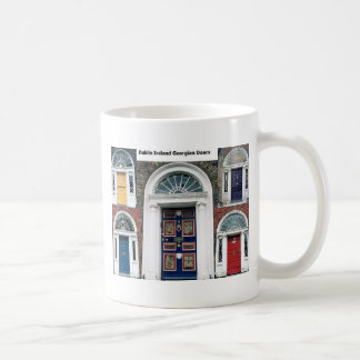Ireland - Antique Dublin Doors Coffee Mug