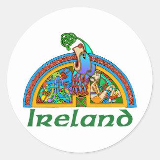 Ireland - Arch Illumination I Classic Round Sticker