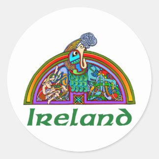 Ireland - Arch Illumination III Classic Round Sticker