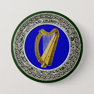 Ireland Arms Pinback Button