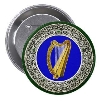 Ireland Arms Pinback Button