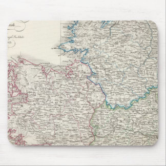 Ireland Atlas map Mouse Pad