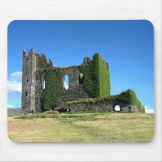 Ireland Ballycarbery Castle Kerry Mousepad