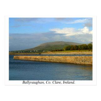 Ireland - Ballyvaughan, County Clare Postcards