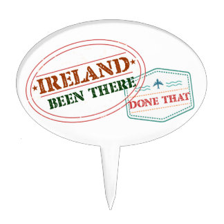 Ireland Been There Done That Cake Topper
