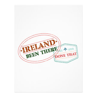 Ireland Been There Done That Letterhead