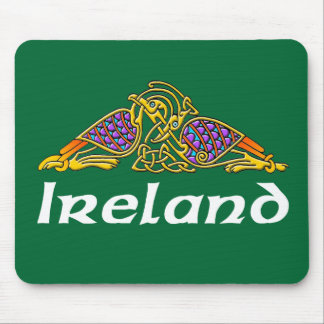 Ireland - Bird Knot Mouse Pad