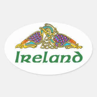 Ireland - Bird Knot Stickers