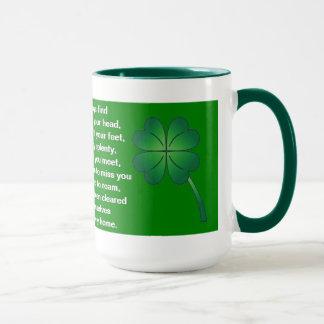 Ireland:   Blessings Mug