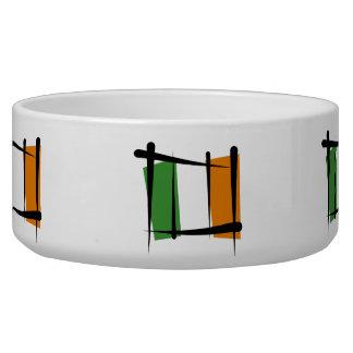 Ireland Brush Flag Bowl
