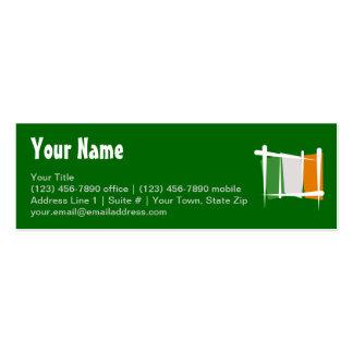Ireland Brush Flag Mini Business Card