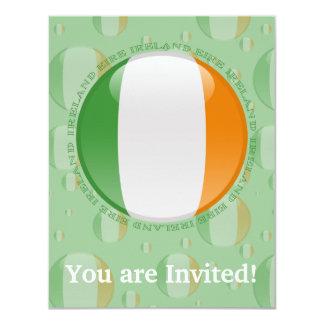 Ireland Bubble Flag Card