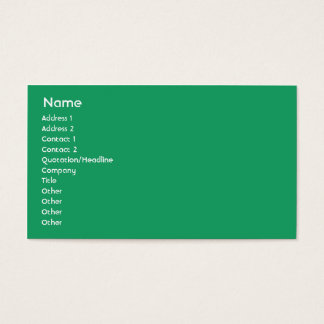 Ireland - Business Business Card