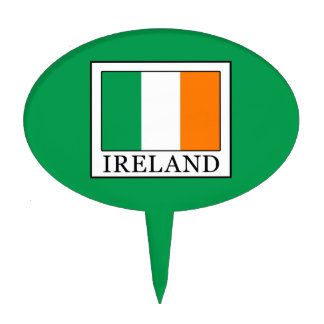 Ireland Cake Topper