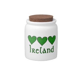 Ireland Candy Dishes