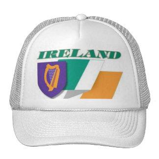 Ireland cap trucker hat