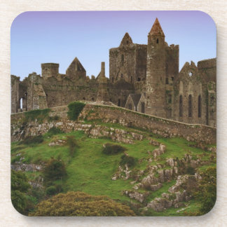 Ireland, Cashel. Ruins of the Rock of Cashel 2 Beverage Coaster