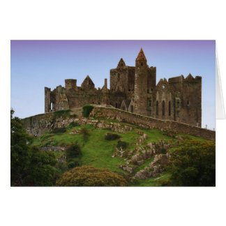 Ireland, Cashel. Ruins of the Rock of Cashel 2 Greeting Card