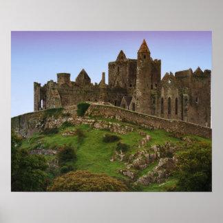 Ireland, Cashel. Ruins of the Rock of Cashel 2 Poster