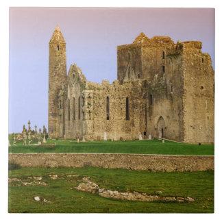 Ireland, Cashel. Ruins of the Rock of Cashel Ceramic Tile