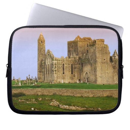 Ireland, Cashel. Ruins of the Rock of Cashel Laptop Computer Sleeve