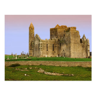 Ireland, Cashel. Ruins of the Rock of Cashel Postcard