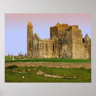 Ireland, Cashel. Ruins of the Rock of Cashel Poster