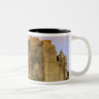 Ireland, Cashel. Ruins of the Rock of Cashel Two-Tone Coffee Mug
