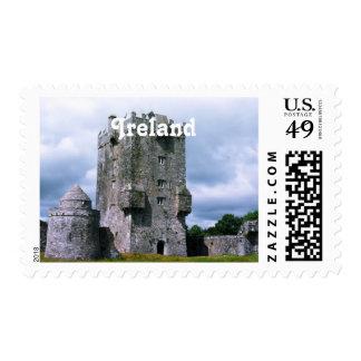 Ireland Castle Stamp