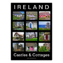 Ireland Castles & Cottages Poster