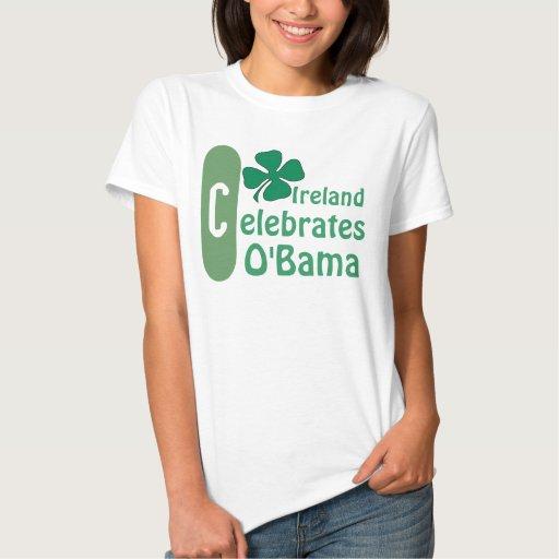 Ireland CELEBRATES President Obama Inauguration T Shirts