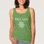 Ireland Celtic Knot Pattern Tank Top