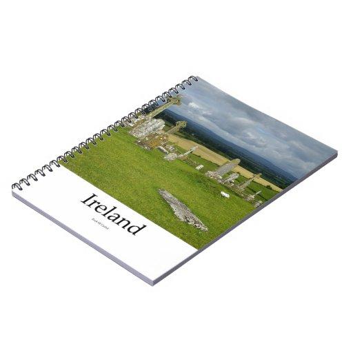 Ireland Cemetery, Rock Of Cashel Spiral Note Book