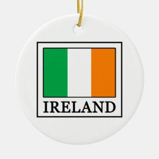 Ireland Ceramic Ornament
