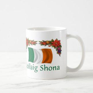 Ireland Christmas Coffee Mug