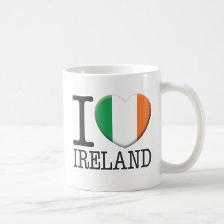 Ireland Classic White Coffee Mug