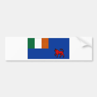 Ireland Clontarf Yacht Club Ensign Bumper Sticker