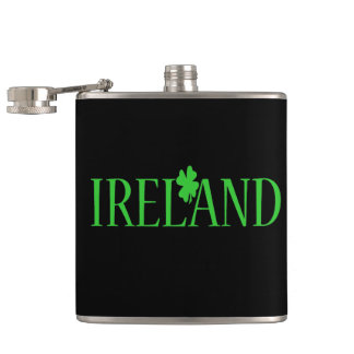 Ireland Clover Flask