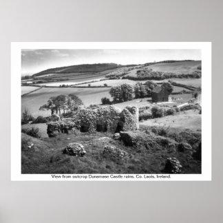 Ireland - Co. Laois, Dunamase Castle Print