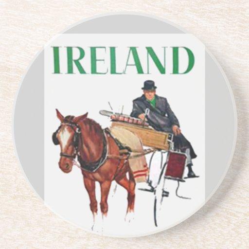 Ireland  Coaster Beverage Coaster