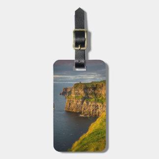 Ireland coastline at sunset luggage tag