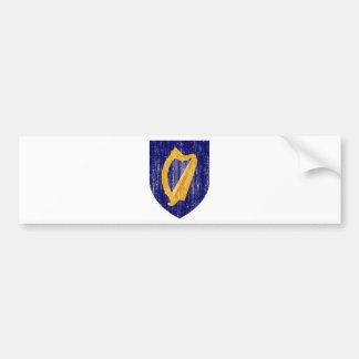 Ireland Coat Of Arms Bumper Sticker