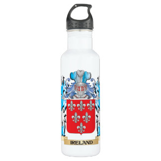Ireland Coat of Arms - Family Crest 24oz Water Bottle