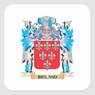 Ireland Coat of Arms - Family Crest Sticker