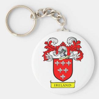 IRELAND Coat of Arms Keychain