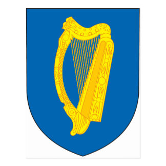 Ireland Coat Of Arms Postcard