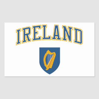 Ireland + Coat of Arms Stickers